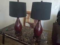 Lamps in Yucca Valley, California