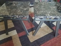 Set of three coffee and end tables in Yucca Valley, California