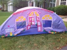 Little girls cottage tent in Oswego, Illinois