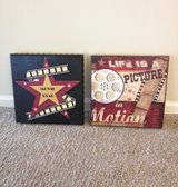 Movie-Themed Wall Art (Set of 2) in Chicago, Illinois