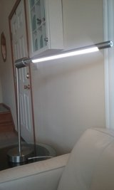 Two LED Brushed Nickel Tube Lights in Oswego, Illinois