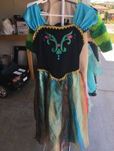 Dress up Anna Coronation Frozen size L girls in Travis AFB, California