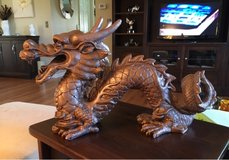 Outdoor Chinese Dragon in Naperville, Illinois