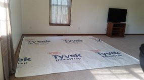 Du Pont Tyvek WRAP 10' X 10' - Campsite/Shelter/pancho,+ more uses!! in Naperville, Illinois
