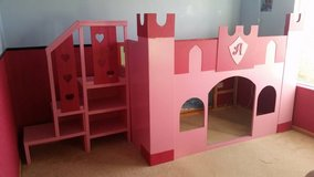 Castle bed custom, twin size in Naperville, Illinois