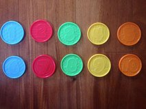 NEW Replacement Coins for Fisher-Price Laugh & Learn Learning Piggy Bank in Oswego, Illinois