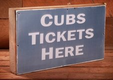 CHICAGO CUBS TICKETS in Naperville, Illinois