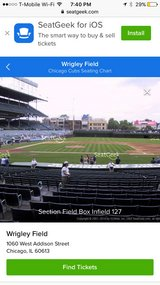 Cubs Tickets 4 tickets in Naperville, Illinois