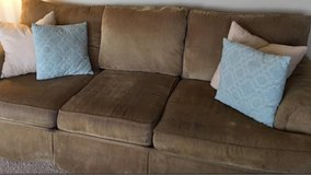 brown sofa/ couch in Naperville, Illinois
