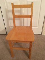 4 - Childcraft Oak Wood Chairs in Naperville, Illinois