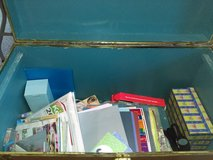 Large trunk with (mostly) paper crafting supplies ~ more stuff added! in Camp Lejeune, North Carolina