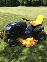 """2009-10 Craftsman PYT9000 garden tractor 26hp. motor 50"""" deck only 378 hours hydro. trans. very ... in Oswego, Illinois"""