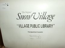 DEPT. 56 - Village Public Library in St. Charles, Illinois