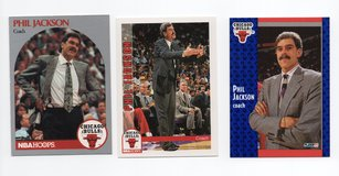 CHICAGO BULLS COACHING LEGEND PHIL JACKSON LOT in Naperville, Illinois