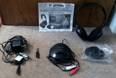 TV LISTENER, INFRARED CORDLESS HEADSET SYSTEM in Lakenheath, UK