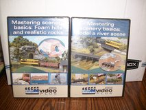 Two Model Railroader How to DVDs-Mastering Scenery Basics in Joliet, Illinois