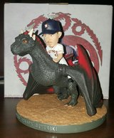 """ASTROS - GAME OF THRONES NIGHT - """"Chris Dragon Devenski"""" Bobblehead - NEW IN BOX - CALL NOW in Pearland, Texas"""