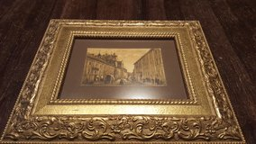 """Gold framed picture 13""""x 11"""" in Lockport, Illinois"""