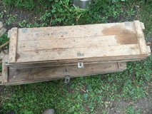 Vintage Army Wooden Ammo Box in Naperville, Illinois