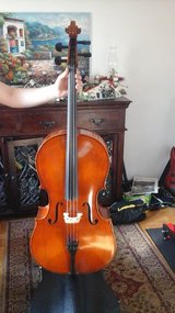 Samuel Eastman Student Cello in Ramstein, Germany