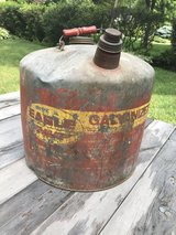 Vintage Eagle Gas Can in Orland Park, Illinois