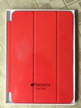 New iPad mini 4 smart cover Red in St. Charles, Illinois