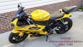 Yamaha YZF R6 Limited Anniversary Edition in Camp Lejeune, North Carolina