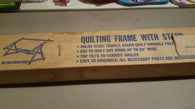 Quilting Frame with Stand in Joliet, Illinois