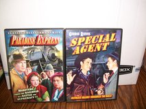 Two Classic Trains Movies- George Reeves in Special Agent and Grant Withers in Paradise Express in Joliet, Illinois