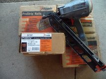 Good working Paslode power nailer and 20,000 6d ringshank brite nails in Fort Leonard Wood, Missouri