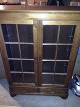 Antique bookcase - imported from Germany in Lawton, Oklahoma