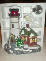Dept. 56 - Christmas Cove Lighthouse in St. Charles, Illinois