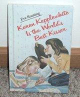 Girls Vintage 1983 Karen Kepplewhite Is the World's Best Kisser Hard Cover Book in Morris, Illinois