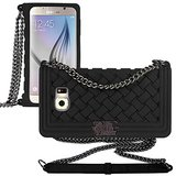 ***Samsung Galaxy S6 Black Braided Case With Chain Strap***MUST HAVE in Houston, Texas