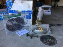 Workforce chop saw with new blades in Travis AFB, California