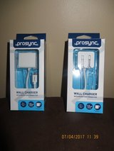 Prosync Wall Charger with Micro USB Connector - New in Box ( I have 2) in Joliet, Illinois