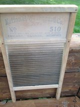 Antique glass washboard in Chicago, Illinois