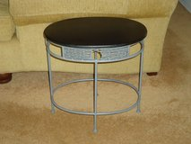 small blk/grey table in St. Charles, Illinois