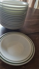 15 fire king #350 cereal bowls no chips or cracks in Lockport, Illinois