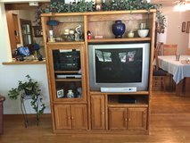 TV/Stereo Hutch and Television in Naperville, Illinois