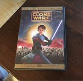 Star Wars Clone Wars DVD in Yorkville, Illinois