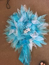 blue star sparkle wreath in Fort Bragg, North Carolina