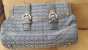 Coach Purse in Blue in Westmont, Illinois