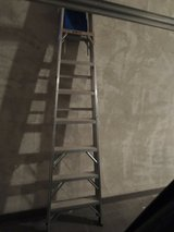 PRICE REDUCED - Ladder - 8 ft. aluminum in Ramstein, Germany