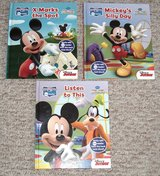 Disney Mickey Mouse Club House Book Lot of 3 Silly Day * X Marks The Spot * Listen To This in Oswego, Illinois