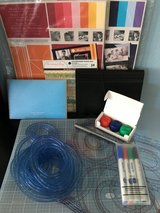 Creative Memories Starter Pack: Cutting Mat, Blades, Cool & Warm Paper, Markers in Fort Lewis, Washington