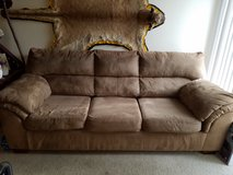 Suede Couch-Pickup ONLY in Fort Carson, Colorado