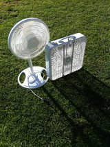 Box and Pedestal Fan in Camp Pendleton, California
