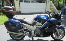 2012 Yamaha FJR 1300-A-Cobalt Blue~Very Sharp!! in Aurora, Illinois