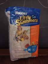 New pack!! Huggies Little Swimmers Disposable Swimpants, Size M (24-34 lb), 11 ct in Kingwood, Texas